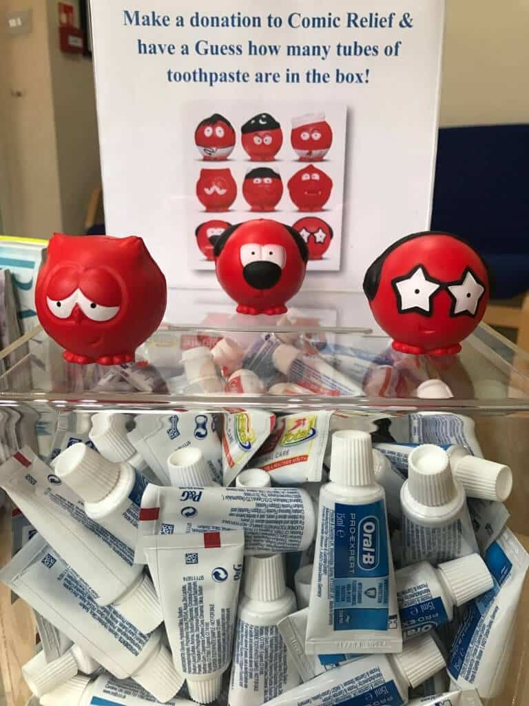 red nose guess the tubes