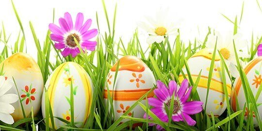 Easter 2017 Opening Times